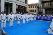 Karate in Piazza